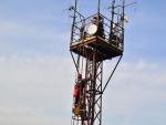 Záchrana osoby z anténního stožáru prověřila činnost libereckých lezců