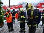 Hasiči likvidovali požár v mateřské škole, naštěstí jen cvičně