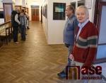 Vernisáž výstavy fotoklubu Balvan v libereckých Lidových sadech