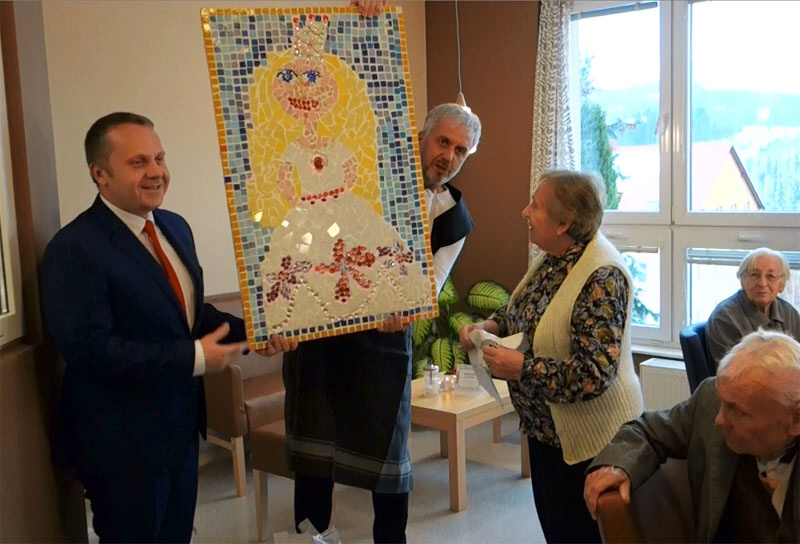 Nově otevřená kavárna v Domově důchodců Velké Hamry