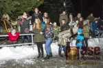 Vánoční zpívání na schodech v tanvaldské sportovce