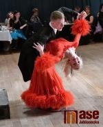 Věneček tanečního kurzu v jabloneckém Eurocentru