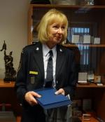 Hasiči poděkovali Yvonně Kroupové za 29 let poctivé služby