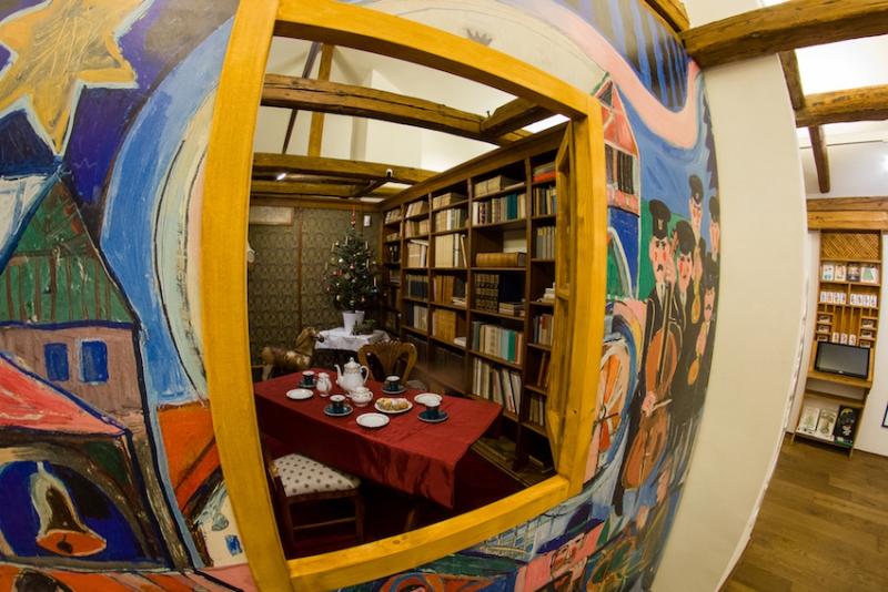 Výstava Zimní pohádky s Miloslavem Jágrem