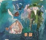 Na malované zimní pohádky se vypravte do Domu Scheybalových