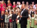 Tříkrálové zpívání v jabloneckém divadle