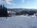 Podmínky v lyžařském areálu v Lučanech nad Nisou
