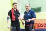 Utkání družstev stolních tenistů SKST Borová Liberec - KT Praha