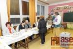 Obrazem: První kolo prezidentských voleb v Tanvaldě