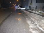 V jablonecké ulici Palackého narazil opilý řidič do zaparkovaných aut
