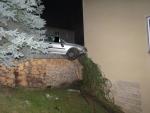 Nehoda v Železném Brodě v ulici Těpeřská