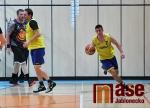 Obrazem: Zápas Jizerské basketbalové ligy Draci Jablonec - TJ Tanvald