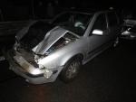 Hromadná dopravní nehoda nedaleko železničního mostu u Stráže nad Nisou