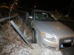 Nehoda v jablonecké ulici Mostecká