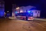 Požár bytového domu v ulici Studničná v Liberci
