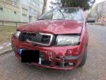 Řidič v Jablonci ujel od dvou způsobených dopravních nehod