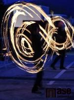 Přivítání olympioniků na jabloneckém náměstí