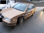Nehoda dvou vozidel ve Smržovce na silnici první třídy číslo 14