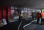 Požár v obydlené části Jablonce nad Nisou v zástavbě panelových domů