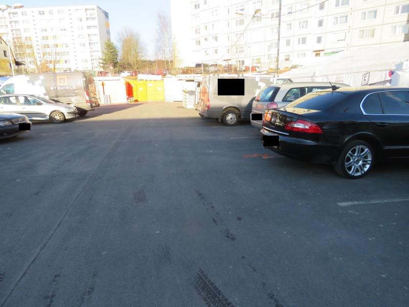 Nehoda dvou vozidel na parkovišti u Kauflandu v Jablonci nad Nisou