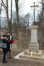 Simmův kříž - farář Karel Koláček
