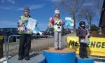 Závod ve slalomu na lyžích v rámci projektu Malotřídky pospolu
