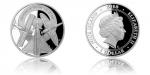Sada zlatých a stříbrných mincí ke stoletému výročí Královského letectva Velké Británie - RAF