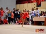 Obrazem: Nedělní souboje moderních gymnastek v Jablonci