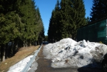 Aktuální stav silnice kolem Souše