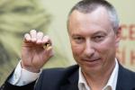 Slavnostní ražba zlaté a stříbrné mince Jany Novotné
