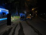 Řidič upadl v Jablonci do mikrospánku a havaroval