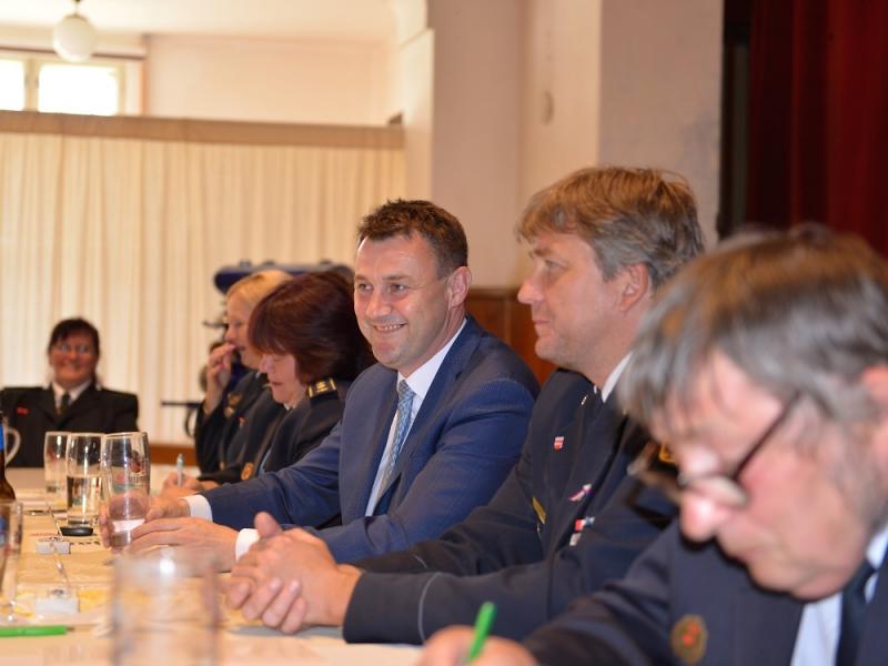 Setkání dobrovolných hasičů v Bratříkově