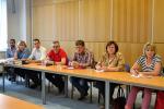 Setkání zástupců krajského úřadu a ředitelů škol