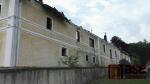 Areál v Jindřichovicích po rozsáhlém požáru