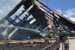 U požáru stodoly v Liberci zasahovali i jablonečtí hasiči