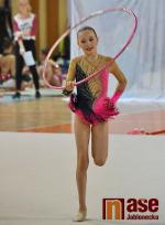 Tři medaile moderních gymnastek z mistrovství ČR