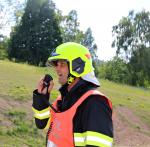 Cvičení složek IZS na nové silnici z Liberce do Jablonce