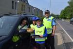 Děti se strážníky opět apelovali na řidiče, aby jezdili bezpečně