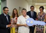 Českolipská nemocnice slavnostně otevřela rekonstruované pokoje pro matky s novorozenci