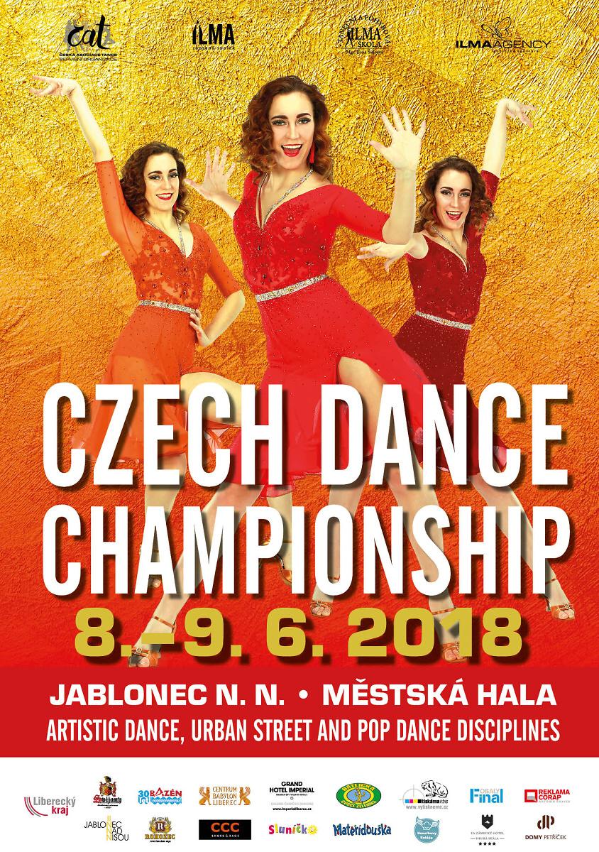 Mistrovství České republiky - Czech Dance Championship 2018