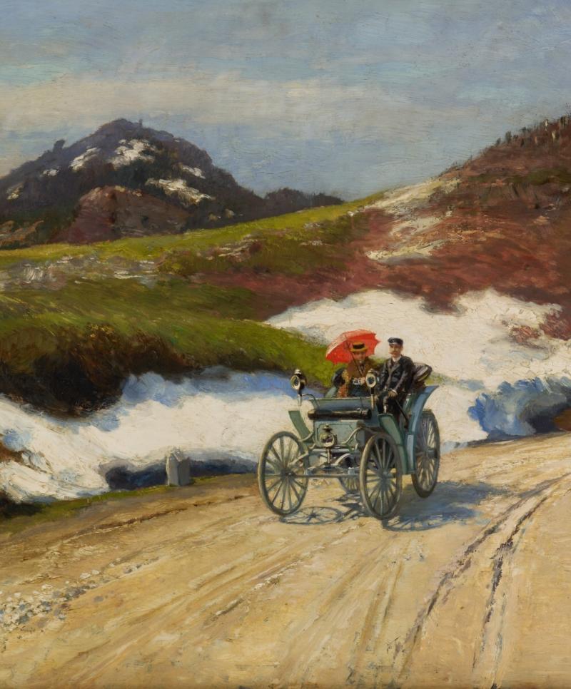 Hugo Charlemont - Jízda autem<br />Autor: Archiv Parliamo