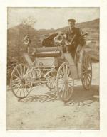 Theodor Liebieg na voze Benz Victoria