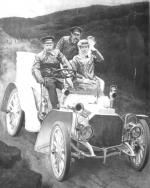 Nezvěstný obraz Eduarda Charlemonta z roku 1901