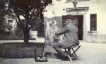 Eduard Charlemont maluje