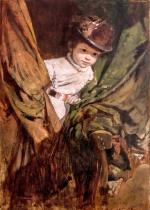 Dětský portrét Elisabeth starohraběnky Salm-Reifferscheidtové