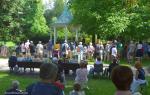 The Dixieland Messengers zahrála v jabloneckém Tyršově parku