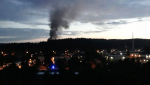 Požár skládky v Proseči nad Nisou