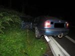 Dopravní nehoda na silnici první třídy číslo deset mezi Železným Brodem a Loužnicí