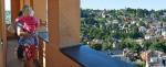 Pohled z věže jablonecké radnice