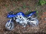 Nehoda motorkáře mezi Železným Brodem a Loužnicí